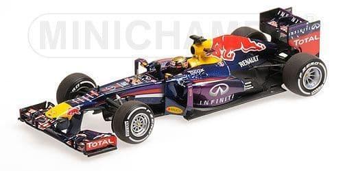 MINICHAMPS 410 130101 - Red Bull RB9 1st Germany13 -Vettel